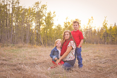 fall into winter family pictures