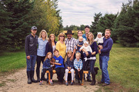 family photographer captured a lovely rural family at her farm just out side Drayton Valley Alberta