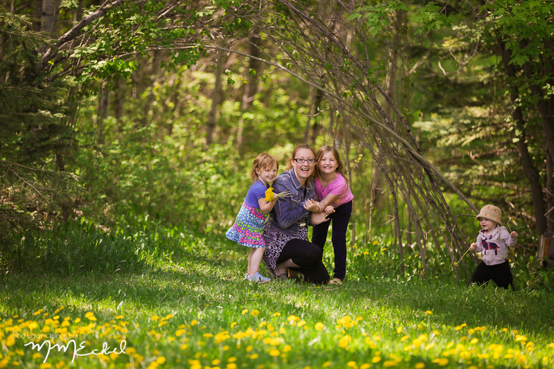 out door family photography