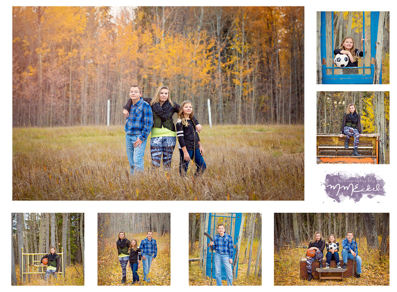 alberta fall family photography