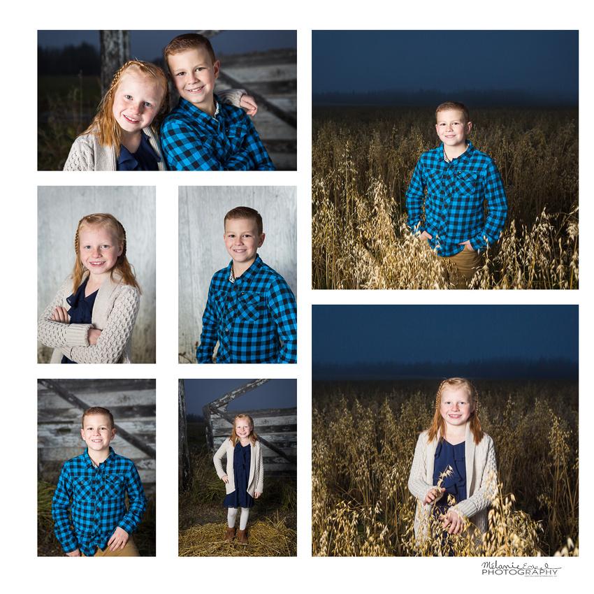 Outdoor rural Alberta school portraits you will love